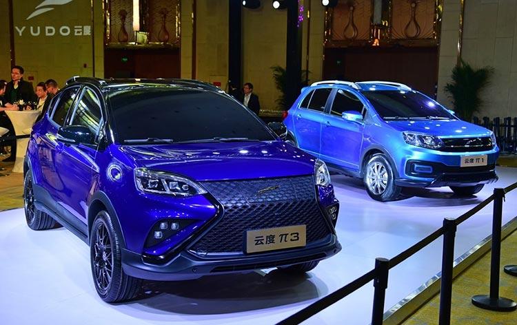小型纯电SUV/续航300km 云度π1/π3两新车正式首发
