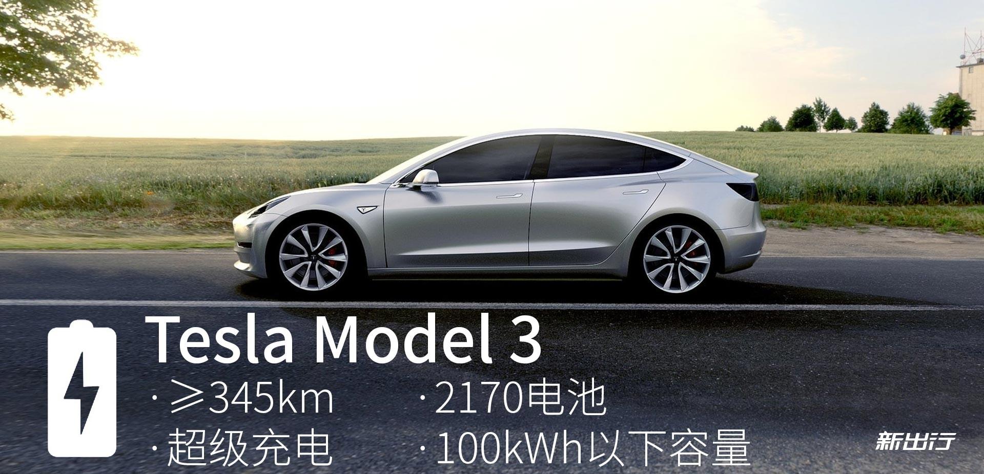 「Model 3 官方确认信息」