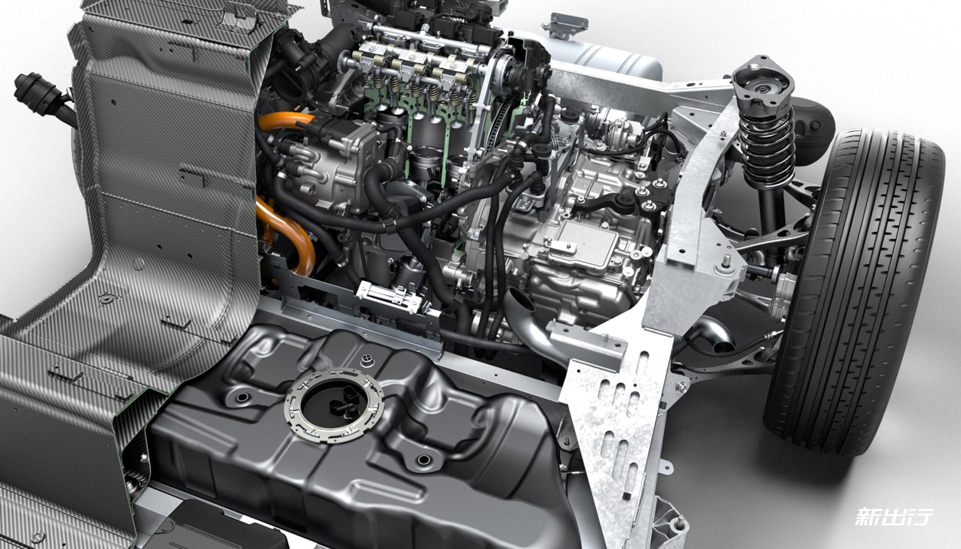 0l 级别:保时捷 2.0t 水平对置发动机