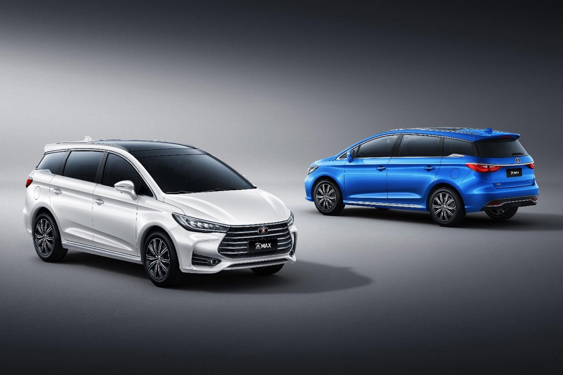 宋max 是一款采用比亚迪最新家族式设计的 7 座 mpv 车型,并采用了 2