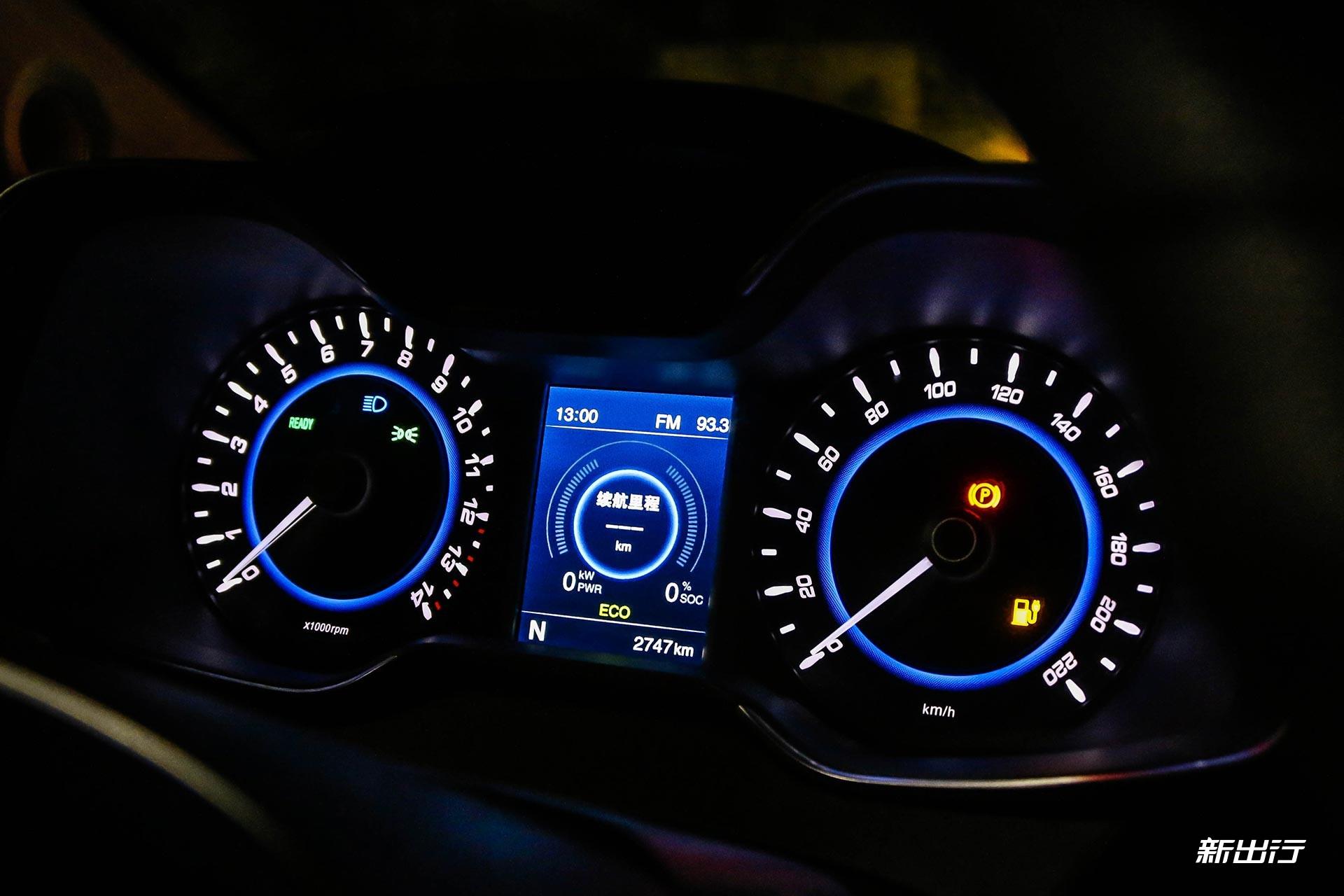 当纯电动车亮起电量不足指示灯时 记住这三点才能开