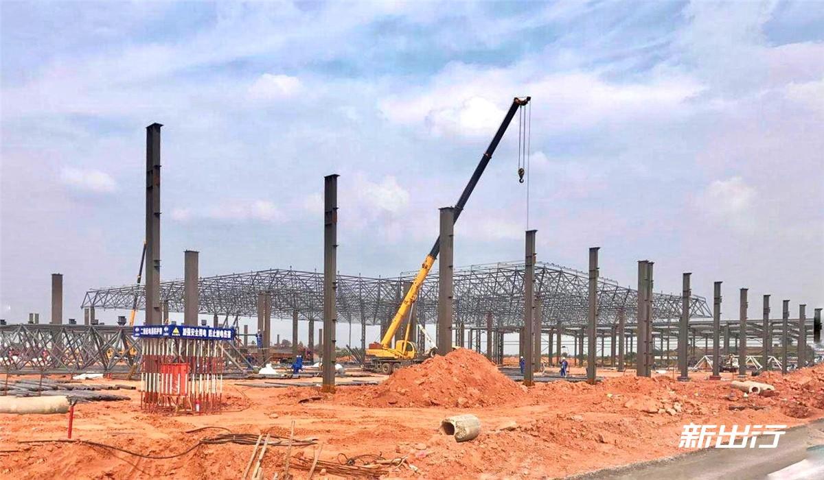 爱驰亿维位于上饶的工厂正在积极建设中-1.jpg