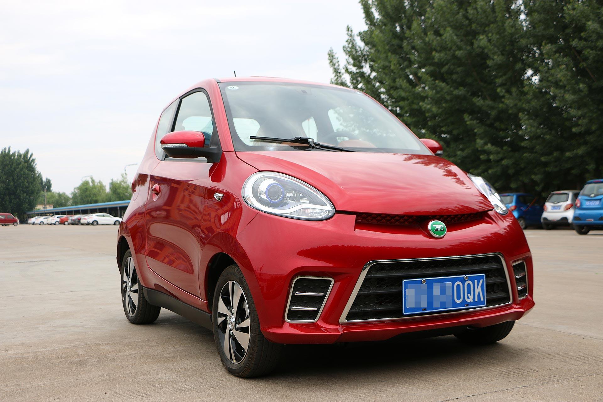 纯电动微型车可以买?深度体验知豆D2S