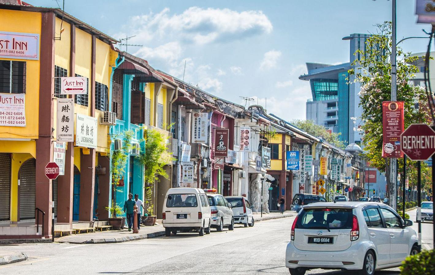 融化在浓浓的南洋情调里 马来西亚槟城游记