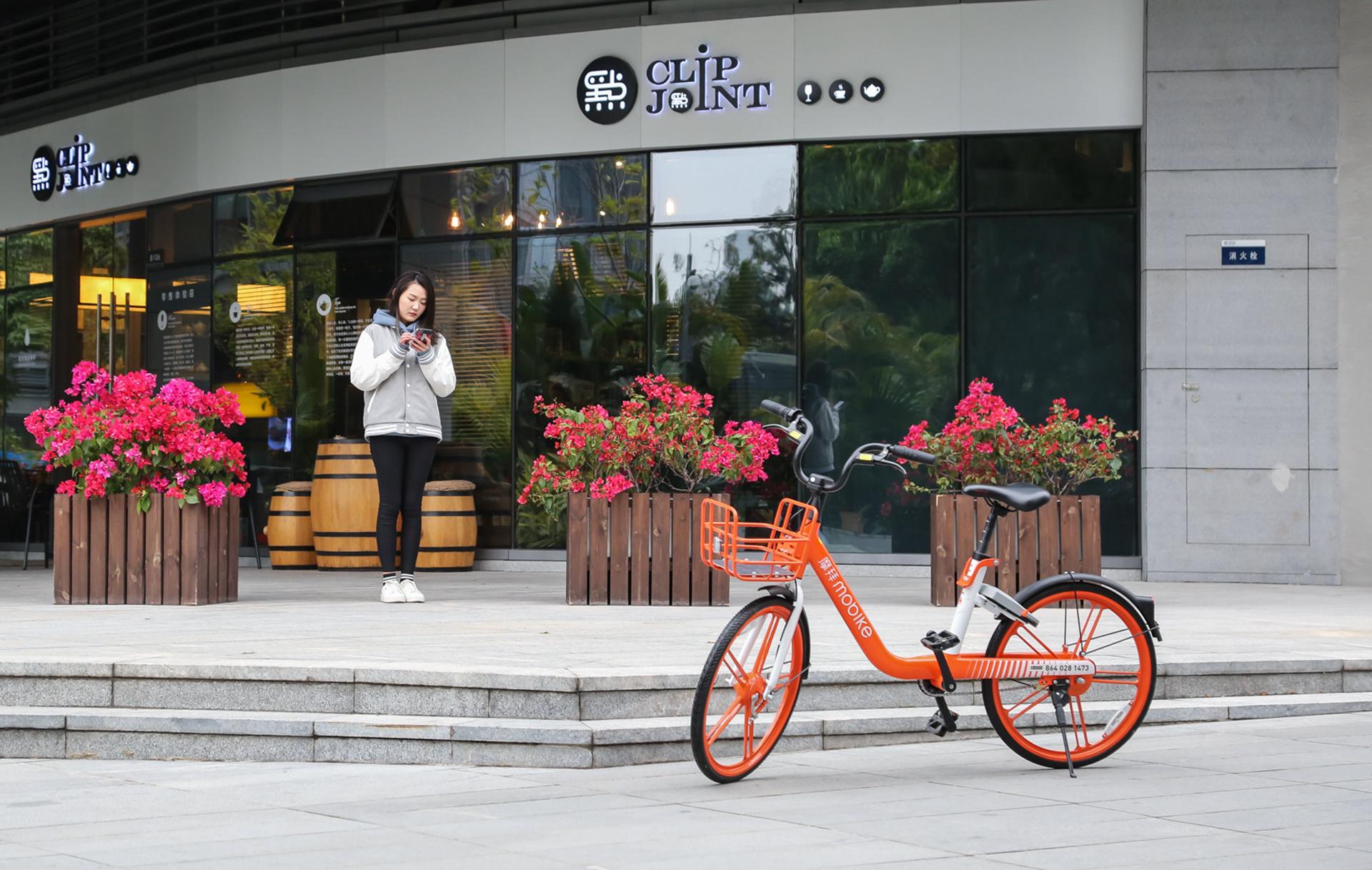 骑上就不想下来的共享单车 体验摩拜NEW LITE